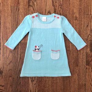 Gymboree Panda Sweater Dress